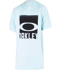 camiseta oakley cut mark tee masculina