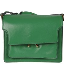 marni long strap flap shoulder bag