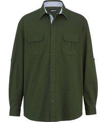 overhemd men plus donkergroen