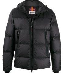 parajumpers hooded padded jacket - black
