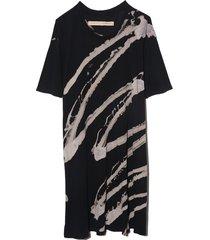 sonia dress in black/white