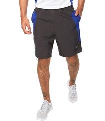 pantaloneta deportiva gris-azul rey jogo