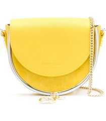 see by chloé bolsa tiracolo mara evening - amarelo