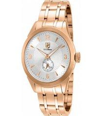 reloj scoifman sc0119 rosa acero inoxidable