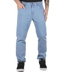 calça prime jeans delave masculina