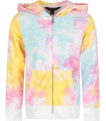 ralph lauren multicolor sweatshirt for girl with iconic pony