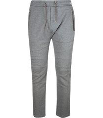 balmain classic slim track pants
