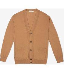 b-chain cardigan brown 60