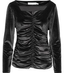 faryliw blouse blouse lange mouwen zwart inwear