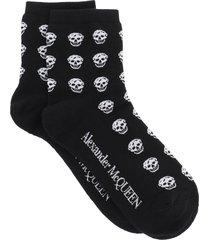 alexander mcqueen multiskull socks