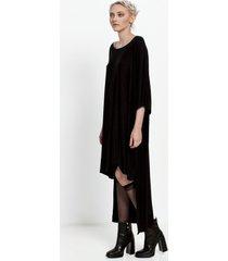 sukienka oversize z długim tyłem