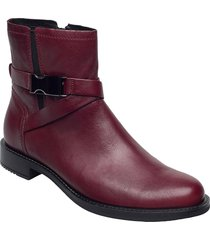 sartorelle 25 shoes boots ankle boots ankle boot - flat röd ecco