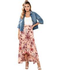 falda madagascar rosa ragged pf11320390