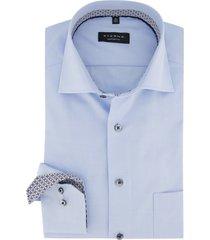 eterna overhemd comfort fit blauw