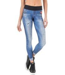 calça legging live! in favorite jeans