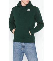 kappa sweat hood willie tröjor grön/brun