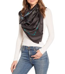 women's allsaints all of a flutter silk square scarf
