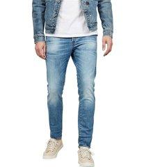 g-star 51001 b631 - 3301 slim jeans men denim light blue