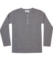 le petit coco button details long sleeve t-shirt
