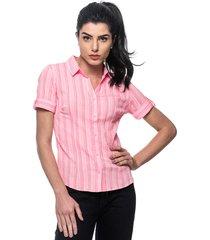 camisa intens manga curta algodão vermelho
