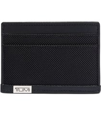 tumi men's textured card case