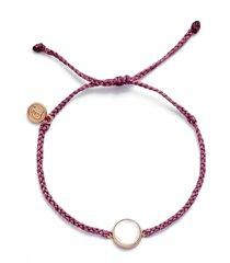 women's pura vida mother of pearl slider bracelet