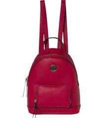 mochila roja tommy hilfiger core mini backpack cb