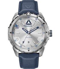 reloj azul reebok impact men