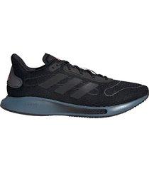 zapatilla negra adidas galaxy run