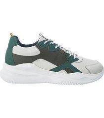 sneakers de cuero para mujer 08609