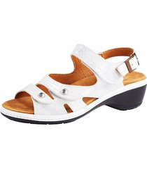 sandaletter naturläufer vit