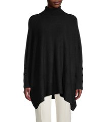 anne klein women's turtleneck dropped-shoulder sweater - anne white - size s/m