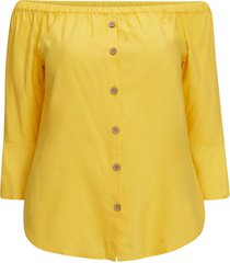 off shoulter-topp carsunny 3/4 top