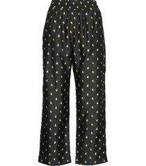 debra, 880 jasmine taffeta pantalon met rechte pijpen stine goya