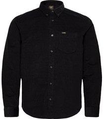 lee button down overhemd casual zwart lee jeans
