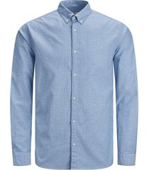 jack & jones overhemd 12169911 cashmere blue - blauw