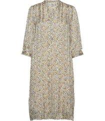 sc-idiris jurk knielengte geel soyaconcept