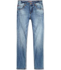 tommy hilfiger regular-fit blue stone jeans, little boys