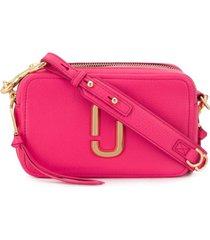 marc jacobs bolsa tiracolo snapshot - rosa