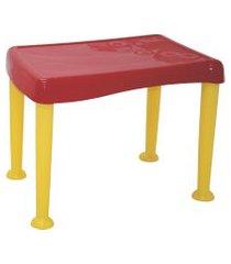conjunto mesa e cadeira tramontina 92485000 monster 2 peças