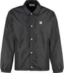 maison kitsuné bertil nylon windbreaker-jacket