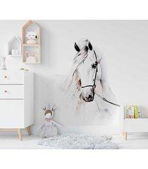 pastelowy koń naklejka na ścianę