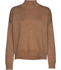 wool knit gebreide trui beige ganni