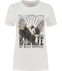 nikkie t-shirt n6-391 eagle boyfriend