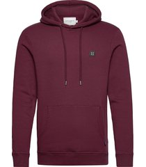piece hoodie hoodie trui rood les deux