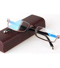 occhiali da lettura occhiali da vista in vetro da uomo