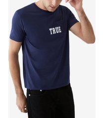 true religion men's true pocket short sleeve crewneck tee