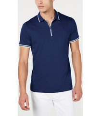 ax armani exchange men's fixed cotton jersey polo t-shirt