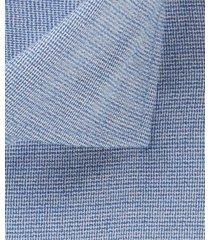 michaelis overhemd lichtblauw dobby verf contrast cutaway ml7 slim fit