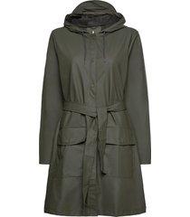 belt jacket outerwear rainwear rain coats grön rains